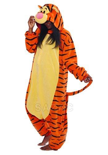 mi - Tigger (Winnie Puuh) (Winnie Puuh Tigger Kostüme Für Erwachsene)