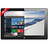 "Thomson TH-INT10W16 Tablette tactile 10"" (25,40 cm) (16 Go, Windows 10, 1 Prise jack, Noir)"