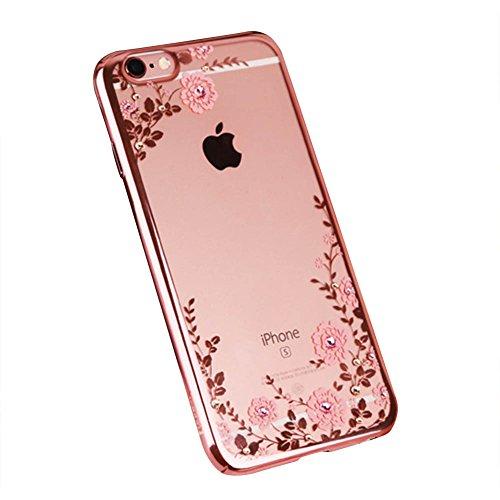 Ultra Dünn [ Passt Perfekt ]Feder Leicht Soft Flex Silikon Hülle Für Apple iPhone Bumper Cover Rose Gold iphone 8