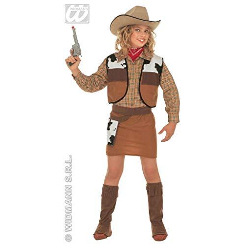 WIDMANN Desconocido Déguisement Western Cowgirl (8/10ans - 140 cm)
