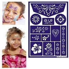 Preisvergleich Produktbild Unbekannt OZ International – GT41599 – Kreativset - Schablone für Blumenmuster / Make-Up
