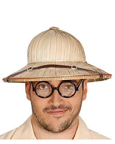 (Horror-Shop Dschungel Jeep Safari Tropen Hut für Fasching & Karneval)