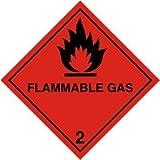 Smarts-Art Panneau 'Flammable Gas 2 Hazchem de santé et de sécurité