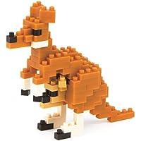 Nanoblock 58514476 - Känguru, 3D-Puzzle - Mini Collection, 110 Teile