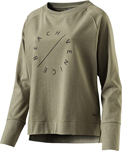 VENICE BEACH Damen Richi Sweatshirt oliv XL Beach Sweatshirt