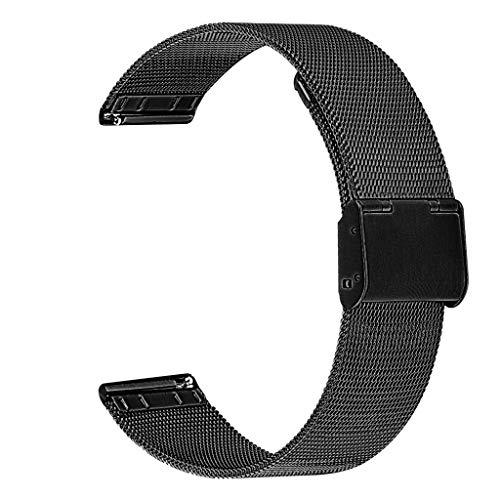 Omiky Release Ersatz-Uhrenarmband für Samsung Galaxy Watch aktiv Samsung Galaxy 42mm Uhr Schnalle (42-touch-screen-monitor)