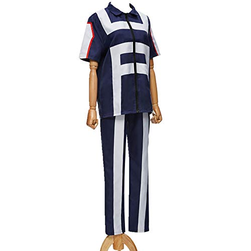 Kostüm Männer Asian - I TRUE ME Männer Frauen My Hero Academia Gymnastik Uniformen Katsuki Bakugo Izuku Midoriya Cosplay Kostüm Trainingsanzug Outfit,Men,M