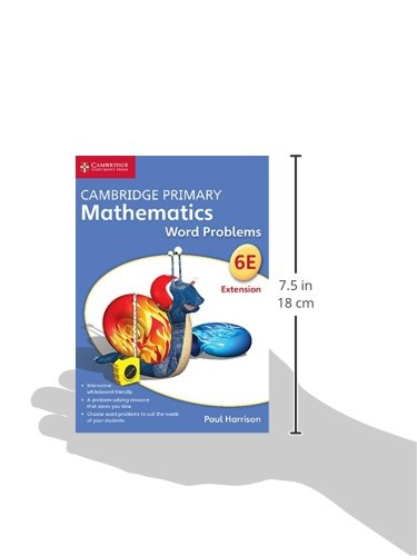 Cambridge primary mathematics. Word problems. Stage 6 extension. DVD-ROM (Apex Maths)
