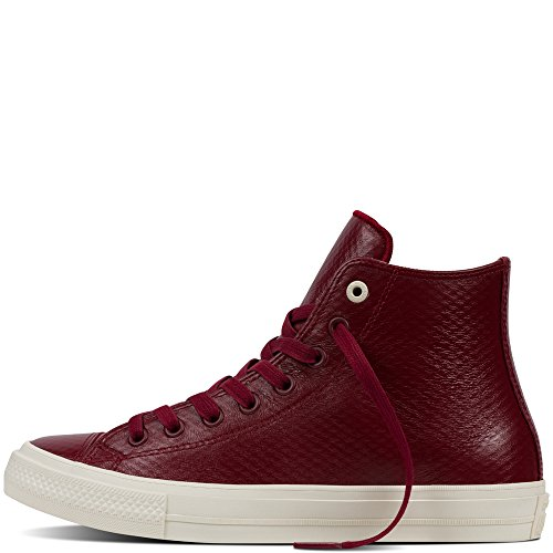 Converse All Star Ii Cuir Scarpa Rosso