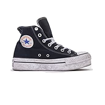Converse All Star Hi Ltd Sneakers Unoisex, Chuck Taylor Ltd 156890C/NAVY Smoke, Colore Blu/Navy, Nuova Collezione Primavera Estate 2018