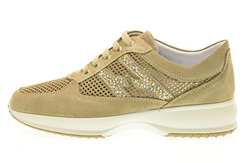IGI&CO scarpe donna sneakers basse 77682/00 BEIGE Beige