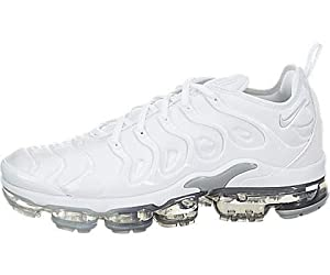 NIKE Air Vapormax Plus, Chaussures de Running Compétition Homme, Multicolore (White/Pure Platinum/Wolf Grey 102), 43 EU