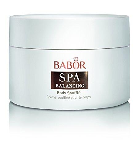 BABOR SPA Balancing Body Souffle, sahnige Körpercreme mit einem Duft aus Bergamotte, Zedernholz und Vanille, mit Sheabutter und Arganöl, vegan, 200ml
