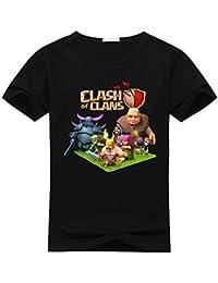 Custom Clash Of Clans Boy's Kinders T-Shirt XXXX-L