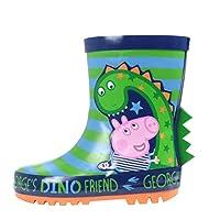 Boys George Pig Dino The Dinosaur Wellies