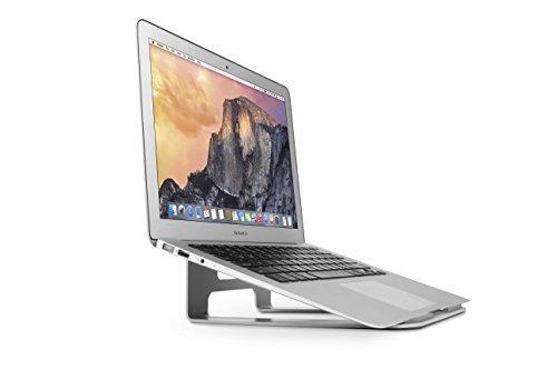 Twelve South ParcSlope Hybrid Ständer (für MacBook, iPad Pro, Notebook und Tablet Keil) silber
