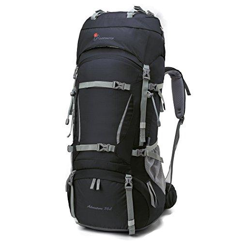 Mountaintop 60+10 Litri/70L+10/75L Zaino Trekking...