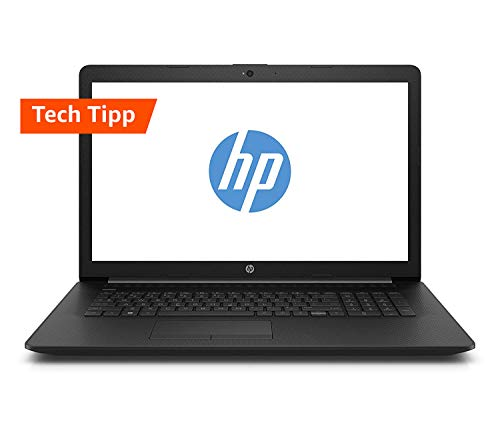 HP 17-by0204ng (17,3 Zoll HD+) Laptop (Intel Core i3-7020U, 8GB RAM, 1TB HDD + 128GB SSD, Intel HD Grafik, Windows 10) schwarz Schwarz Laptop