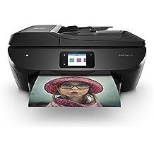 HP Envy Photo 7830 – Impresora multifunción inalámbrica (tinta, Wi-Fi, copiar, escanear, alimentador automático de documentos, 1200 x 1200 ppp, incluido 4 meses de HP Instant Ink) color negro
