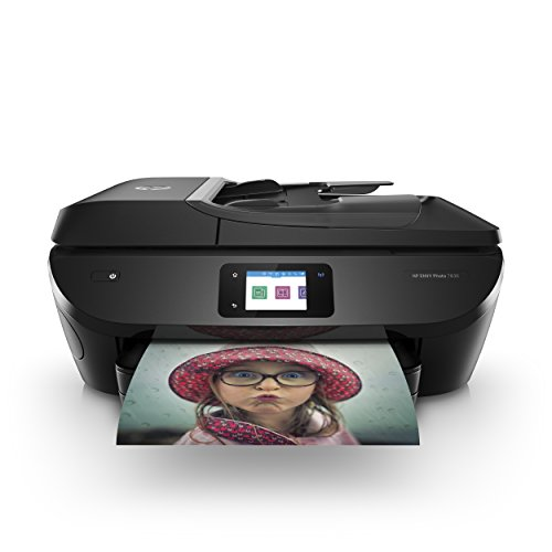 HP Envy Photo 7830 – Impresora multifunción inalámbrica (tinta, Wi-Fi, copiar, escanear, alimentador automático de documentos, 1200 x 1200 ppp, incluido 4 meses de HP Instant Ink), color negro