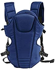 Mom's Pride 3 in 1 Baby Carry Bag Backpack Sling Back Position- Front Position Carrier (Navy Blue)