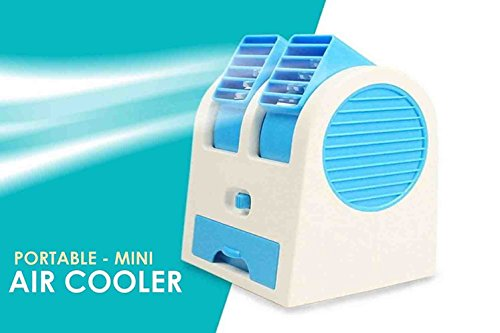 SKYFUN  LABEL  Mini USB Fragrance Air Conditioner Metal Series Cooling Fan Portable Desktop Cooler
