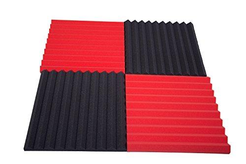 pannelli-fonoassorbenti-monopiramide-50x50x4-pacco-da-20-misto-10-neri-10-rossi