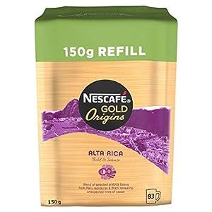 NESCAFÉ GOLD ORIGINS Alta Rica Instant Coffee Refill, 150 g (Pack of 6)
