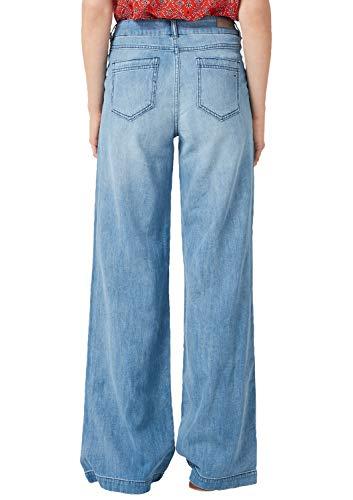s.Oliver Damen 14.904.71.5540 Bootcut Jeans, Blau (Blue Denim Non Stretch 53y4), 34 (Herstellergröße: 34/L32) -