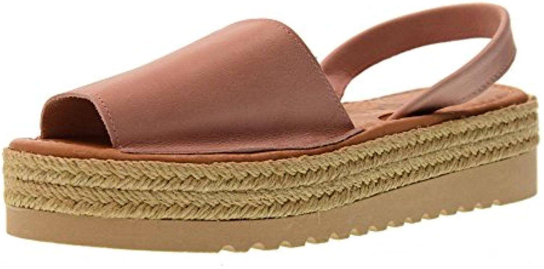 Carmela Zapatos de Mujer Sandalias 66130 Rosa