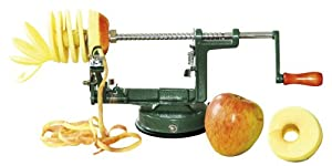 Corvus Kids at Work A600155 Pelador - Máquina para pelar, quitar pepitas y cortar manzanas importado de Alemania