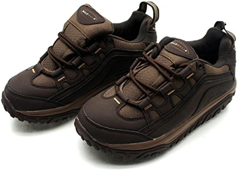 Walk Maxx Outdoor Fitness Schuhe Gr. 37 45 Sneaker Turnschuhe Laufschuhe braun