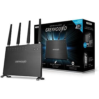 Sitecom Greyhound AC2600 Router Wi-Fi DB, Nero/Antracite