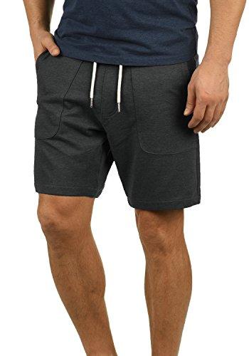 Blend Mulker Herren Sweatshorts Kurze Hose Jogginghose Mit Kordel Regular Fit, Größe:XL, Farbe:Charcoal (70818)