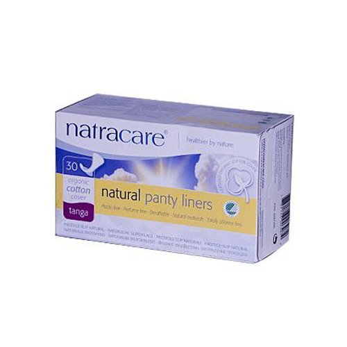 Natracare Natural Thong Style Panty Liners - 30 Pack