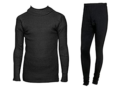 IndiWeaves Womens Combo Pack for Winter (Pack of 1 Warm Wollen Legging and 1 Warm Wollen High Neck T-shirt/Skivvy/Inner)_71505-10110-11-IW-P2