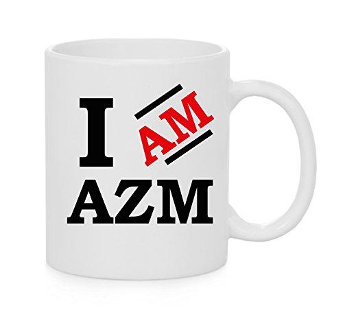 Ich bin Alu-Magnetwasserwaage AZM Offizielles Tasse