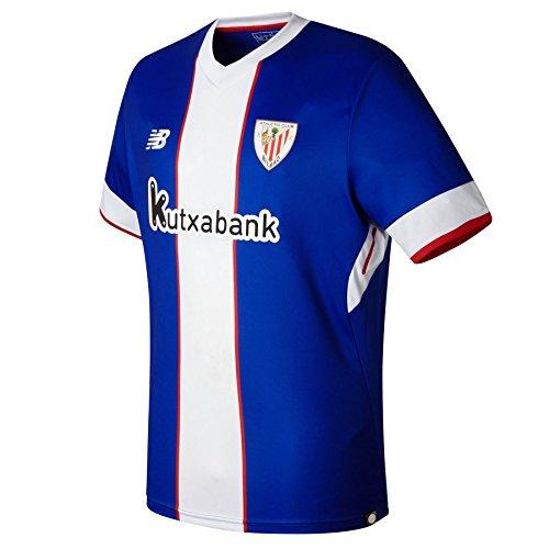 Camiseta AC Bilbao MC 3ª 2017-2018 Azul-Blanco Talla L