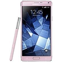 Samsung Galaxy Note 4 Smartphone débloqué 4G (Ecran : 5,7 pouces - 32 Go - Simple SIM - Android 4.4 KitKat) Rose