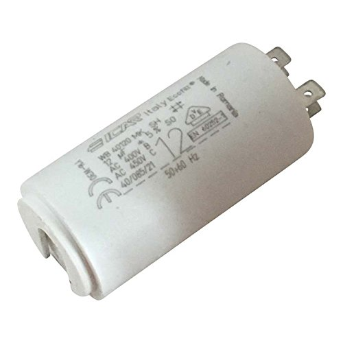 12 µF Motorkondensator -