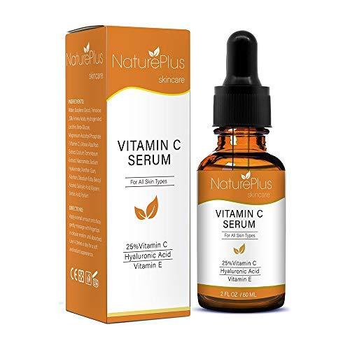 20 Vitamin (Vitamin C Serum für Ihr Gesicht mit 20% Vitamin C + Hyaluronsäure + Vitamin E + Jojobaöl)