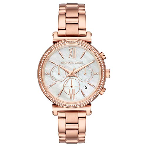 Michael Kors Ladies' Watch Gold Chronograph Sofie MK6576