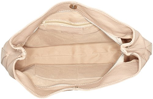 Bags4Less - Dunya, Borse a tracolla Donna Rosa (Nude)