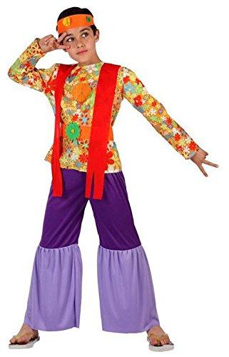 Imagen de angel tomas s.a.  disfraz de hippie para niño, talla 3, 7 9 años