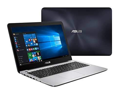 Asus R558UQ-DM513D 15.6-inch Laptop (7th Gen Core i5-7200U/4GB/1TB/DOS/2GB Graphics), Dark Blue image