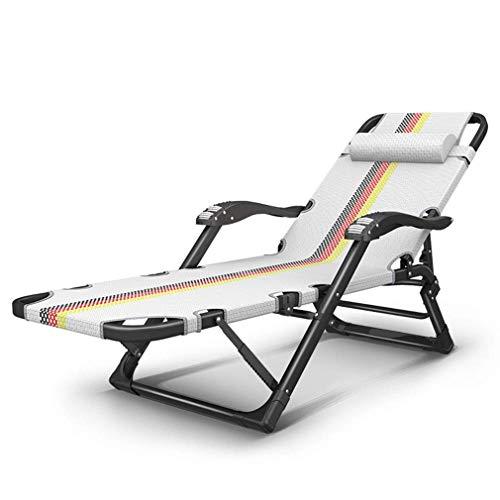 PNYGJZDY Schwerelosigkeit Stuhl Patio Lounge Liegen Einstellbare Folding Outdoor Yard Strand Solarium Home Office Mittagspause Liegestuhl