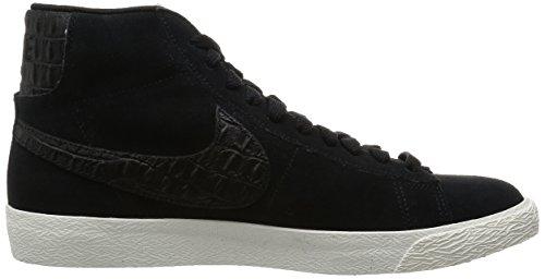 Nike Herren Blazer Mid Prm Vntg Gymnastik Mehrfarbig - Multicolore - Negro / Azul (nero / Nero-vela)