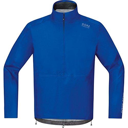 GORE RUNNING WEAR Herren Regen-Laufjacke, GORE-TEX, AIR GT AS Half-Zip Jacket, Größe XL, Blau, JGMAIR (Doppel-zip-kapuzen-jacke)