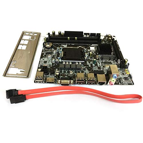 73JohnPol Placa Base Profesional H55 A1 LGA 1156 DDR3
