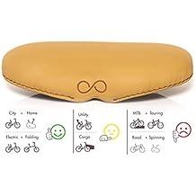 sellOttO-II-H25 FESTA– La sella bici Soffice per Uomo e Donna – Ideata pensando a Stile e Confort – Nessuna pressione ed irritazione nell' area genitale – Made in Italy